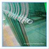 Het aangemaakte Glas van de Bouw met Opgepoetste Randen/Ceramische Fritte/Gaten