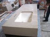 PrefabCountertop van de Steen van het Kwarts van het graniet Marmeren
