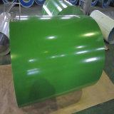 Цинковым покрытием PPGI тиснение стали с полимерным покрытием для Ukrain катушки