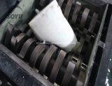 Una trinciatrice delle due aste cilindriche per plastica/metallo/gomma/lo spreco/barilotto