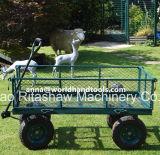 Dienstkarren-Lastwagen-Rasen-Schubkarre-Stahlschlußteil 660lbs