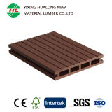 Haltbares Wood Plastic Composite WPC Decking für Landscape (HLM28)