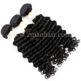 10um cabelo indiano tecem na profundidade de textura cacheados