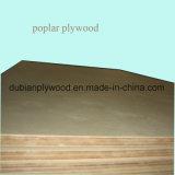 madera contrachapada del álamo de 12m m para los muebles y la decoración