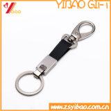 販売(YB-LK-05)のためのカスタマイズされた革Keychain