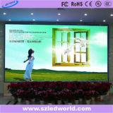 Panneau polychrome d'écran d'Afficheur LED panneau électronique d'intérieur/extérieur de SMD RVB avec le module de coulage sous pression de 512X512 millimètre pour l'étape (LEDSOLUTION P4 amincissent l'Afficheur LED)