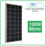Monocrystalline панель солнечных батарей 150W