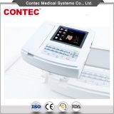 Monitor-Contec portuario aprobado por la FDA del electrocardiógrafo ECG EKG del USB del Ce/