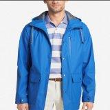 Las chaquetas de la fábrica venden al por mayor a hombres de la capa con la chaqueta barata de encargo de la lluvia de Hoodies