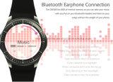 montre androïde du téléphone 3G avec le moniteur du rythme cardiaque (DM368)