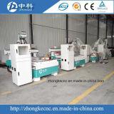 Pneumatische Holz CNC-Fräser-Maschine mit drei Köpfen