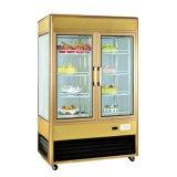 Écran en verre de boulangerie réfrigérateur Cas avec fonction renouvelable