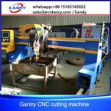 ガントリータイプ血しょう打抜き機、CNCの金属の打抜き機