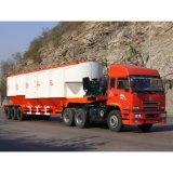 De Tanker van het Cement van de Aanhangwagen van drie Assen Fuwa