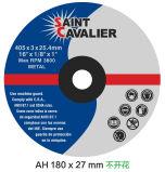 Disque de découpage en métal, roues de découpage pour les scies stationnaires 400X4X25.4