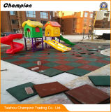 Beste Gleitschutzqualität u. Spielplatz-Gummi-Matte der haltbaren Kinder im Freien