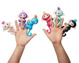 교육 장난감이 1개의 작은 물고기 아기 원숭이 손가락 끝 대중적인 참신을%s 가진 핑거 원숭이에 의하여 농담을 한다