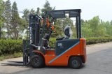 De Vierwielige Elektrische Batterij In werking gestelde Vorkheftruck van uitstekende kwaliteit Cpd25 van 1.5 Ton