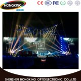 La haute régénèrent l'Afficheur LED polychrome de 3840Hz P3.91/P4.81 pour la location