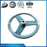 ISO9001 : Volant de rotation certifié de 2008 bicyclettes par le moulage au sable vert