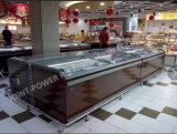 新しいStypleのスーパーマーケットの表示引き戸の島のフリーズのショーケース