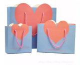 사랑스러운 심혼 모양 공상 종이 선물 부대