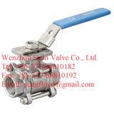 DIN 3PC Vanne à boisseau sphérique fileté DIN3202-M3