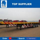 Veículo do titã - Tri-Eixo 40 da capacidade toneladas de leito do reboque para a venda