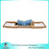 아마존 최신 판매 대나무 욕조 Caddy 목욕 통 쟁반