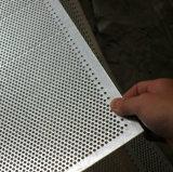 Placa de aluminio de malla metálica perforada