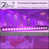 La colada de la arandela 18PCS 18watt DMX LED de la pared del poder más elevado LED enciende los equipos de iluminación de DJ