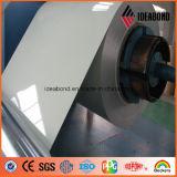 Feuille enduite d'aluminium de matériau de construction de couleur