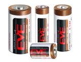 Eva primaria Litio Er26500 Lisocl2 Tipo bobina baterías Batería de litio cloruro de tionilo