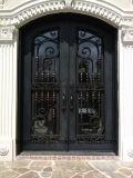 단철 문 석쇠 입구 문은 가격을 디자인한다