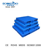 1200X1200 soprando palete de plástico, dupla face, paletes de plástico, paletes de plástico reversível
