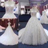 어깨 신부 드레스 결혼 예복 (T0210) 떨어져 중국