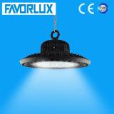 Louro elevado do diodo emissor de luz do UFO com 100W 125lm/W CRI>80 PF>0.95