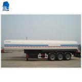 60, 000 litros Tri-cisterna de aço inoxidável reboques de eixo