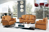 Genuine Leather Sofa Classical Sofa를 가진 거실 Furniture
