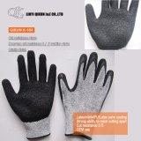 K-161 13 манометры полиэстер / нейлон PU покрытием рабочие перчатки