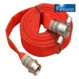 Manichetta antincendio del rivestimento del PVC dell'idrante antincendio per la strumentazione del fuoco
