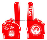 Дешево подгонянная выдвиженческая рука пены губки с логосом