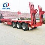 販売のための半Aotongの掘削機の輸送3の車軸Lowbedのトレーラー