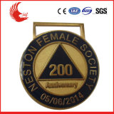 El nuevo diseño 2016 crea la medalla para requisitos particulares grabada metal