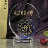 Round Optical Crystal Trophy Vente en gros 2016 K9 Crystal Craft Awards