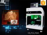 Máquina de grabado de alta frecuencia del laser cristalino 3D con la certificación del Ce