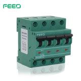 4P de alimentación 800V DC mini interruptor MCB Disyuntor