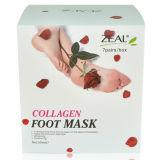 Máscara 65ml do pé do colagénio do cuidado de pele do zelo