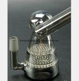Buis van de Waterpijp van de Filter van de Honingraat van het Kanon van de Rook van het Water van het Glas van de rook de Grijze