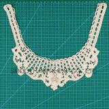 Collier annexe de lacet de broderie de bande de tissu de coton de vêtement de crochet de mode